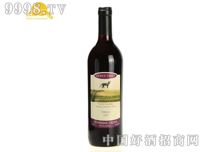 斑马虎西拉干红葡萄酒