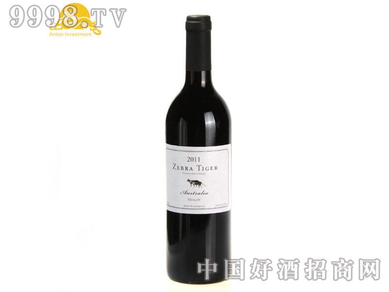 斑马虎美乐干红葡萄酒-2011