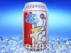 崂雪超干啤酒