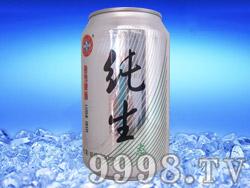 纯生拉罐啤酒