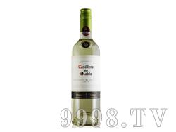 干露红魔鬼白苏维翁干白葡萄酒