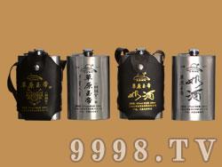 248皮套奶酒白酒钢壶