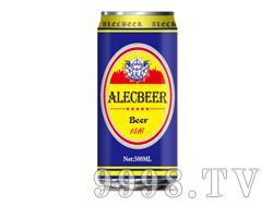 艾利客500ml黄啤1号易拉罐装