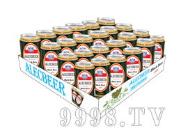 艾利客啤酒易拉罐装