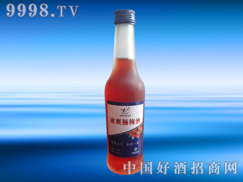 东方威冰爽杨梅酒
