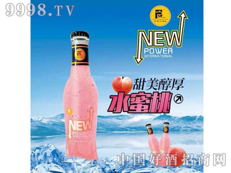 水蜜桃鸡尾酒