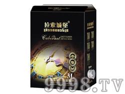 拉索城堡赤霞珠干红葡萄酒3L(利乐包)