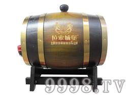 拉索城堡3L橡木桶