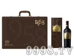 民权臻品1958四支礼盒750ml-民权九鼎葡萄酒业有限公司