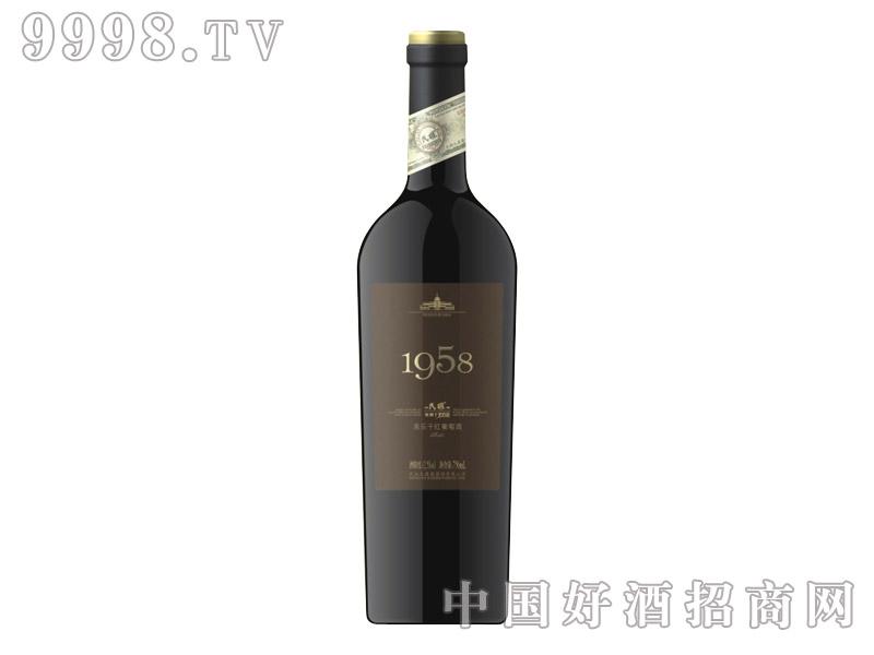 民权1958美乐干红葡萄酒-红酒招商信息