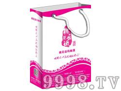 桃花运玛咖酒4盒装礼品袋