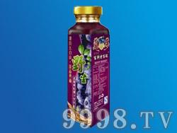 野生蓝莓果粒果汁
