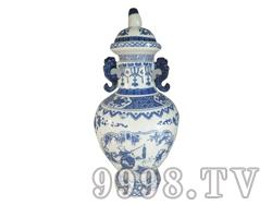 开国封坛瓷瓶