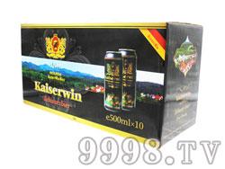 凯撒win500ML黑啤礼盒