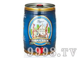 德国凯撒托姆5升黄啤