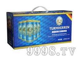 凯撒托姆500ML黄啤礼盒