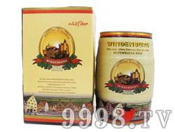 凯撒威登堡白啤5L