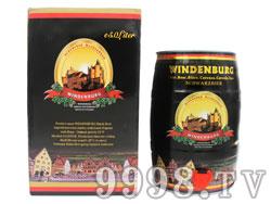 凯撒威登堡黑啤5L