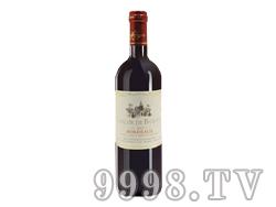 宝纳骑士波尔多干红葡萄酒