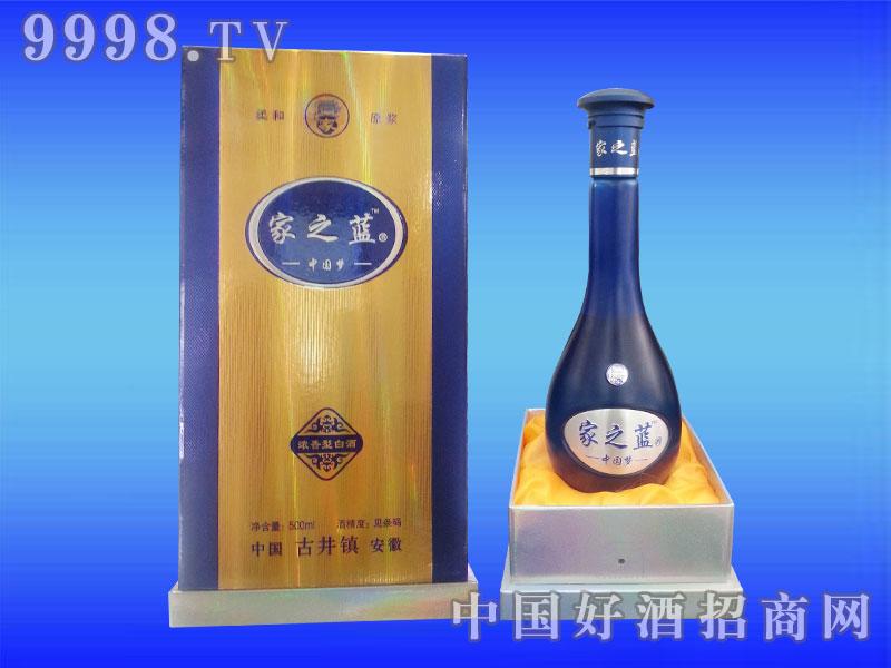 闯王酒业中国梦-家之蓝浓香型