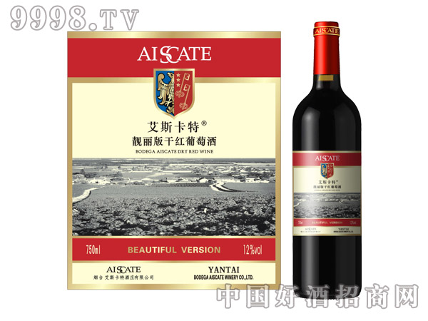艾斯卡特靓丽版干红葡萄酒