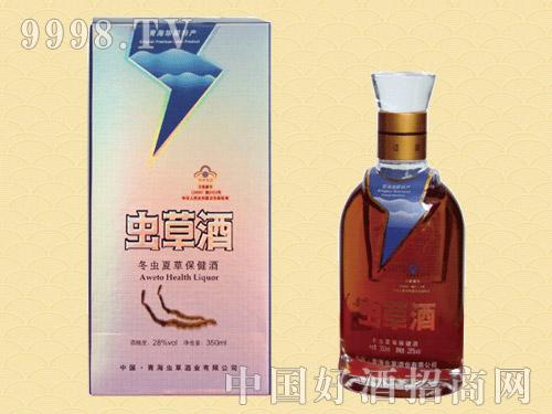 青海虫草酒28%vol-350ml