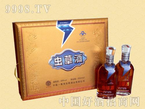 青海虫草酒28%vol 350mlX2