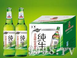 崂山泉500ml纯生啤酒