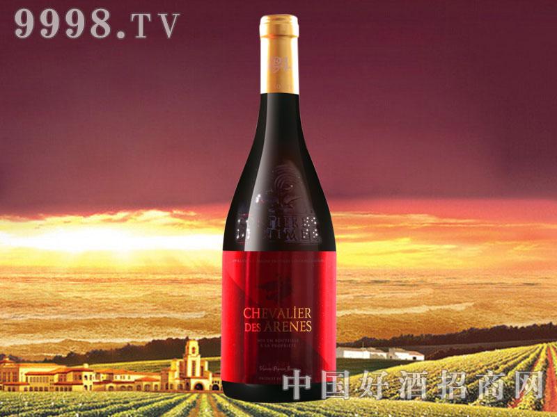 法国红骑士尼姆丘干红葡萄酒