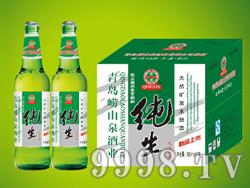 崂山泉啤酒500ml风味纯生