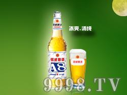 YW009-500ml银威A8-白瓶