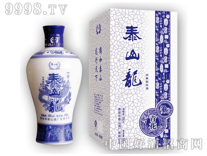 泰山龙青花酒-39%vol-500ml