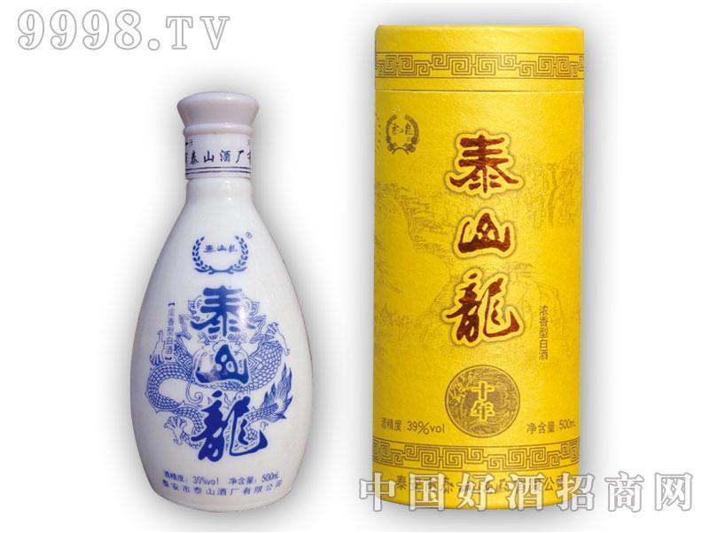 泰山龙圆筒酒-39%vol-500ml