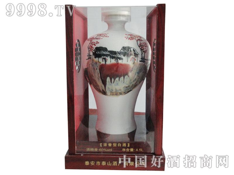 泰山龙酒国瓷-60%vol-4.5L