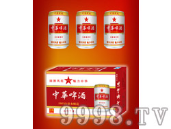 330ml中华啤酒易拉罐