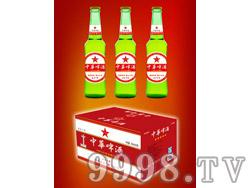 330ml中华啤酒绿瓶