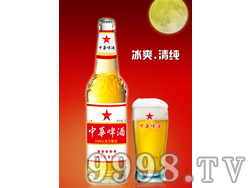 500ml中华啤酒(盛世中华)白瓶