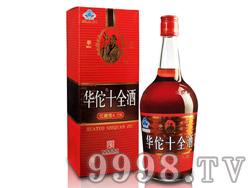 35°700ml华佗十全酒(低糖)侧-上海冠生园华佗酿酒有限公司