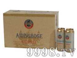 爱丁博格啤酒500ml箱装
