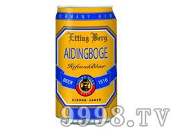 爱丁博格啤酒320ml黄罐