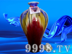 宝石花釉梅瓶10斤