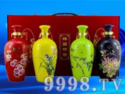 梅兰竹菊原浆酒(红)