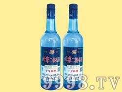 北京二锅头陈酿10-750ml×12(蓝瓶)