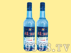 北京二锅头陈酿10-500ml×12(蓝瓶)