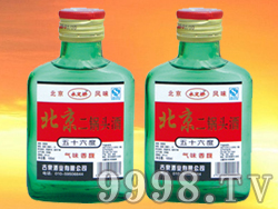 北京二锅头(小绿)56度-100mlX40