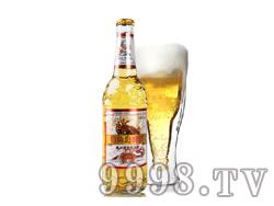 钓鱼岛瓶装啤酒抗日战争版9°P(330ml)
