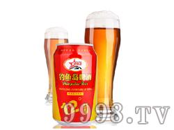 钓鱼岛罐装啤酒红罐12°P(330ml)