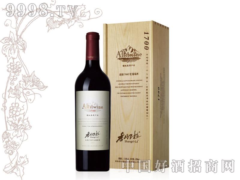 香格里拉高原1700干红葡萄酒