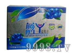 金帝蓝莓汁330ml