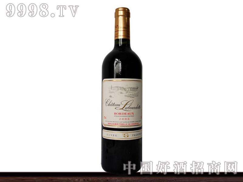 法国波尔多拉勃特干红葡萄酒